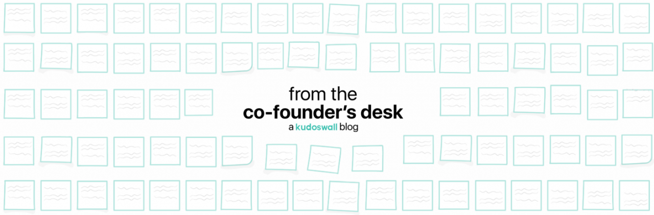 From the Co-Founder's Desk